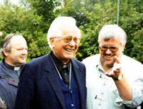 Bischof Hnilica Peter Koros und Pfr. Klaus Müller