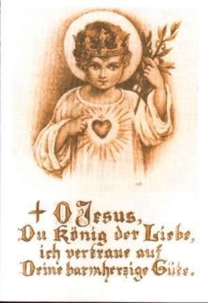 Jesus, Koenig der Liebe